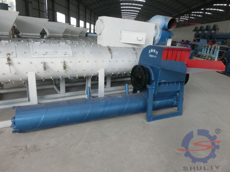 Plastic Crushing and cleaning machine