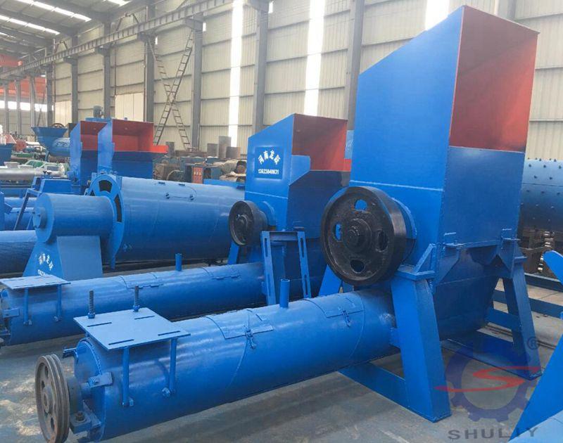 Plastic Crushing and cleaning machine