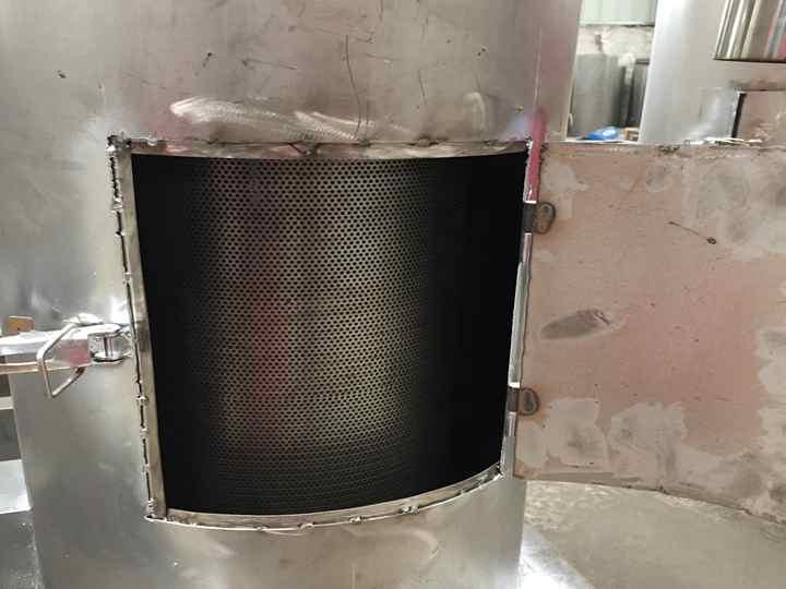 dehydrator machine inside