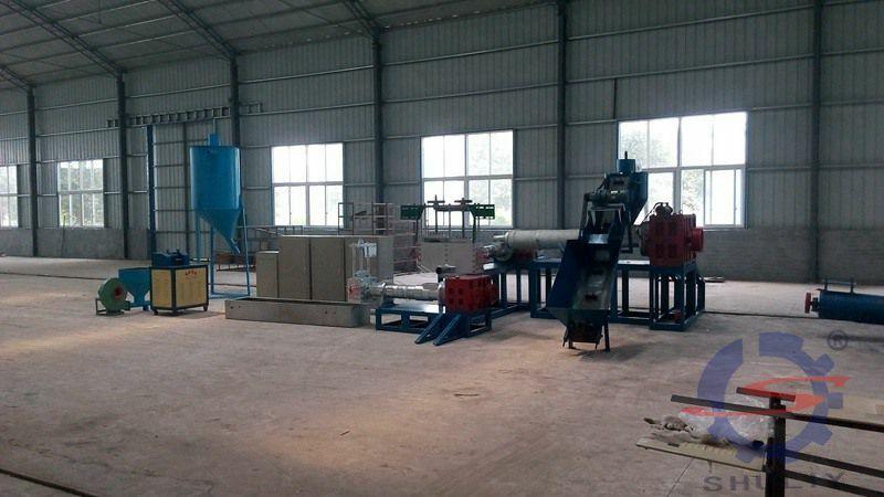plastic pellet making machine