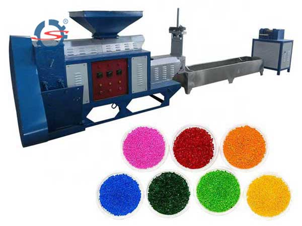 Plastic granule making machine (16)