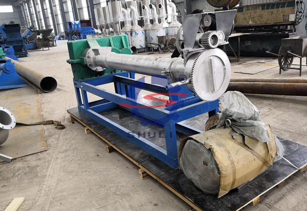 plastic extruders machine