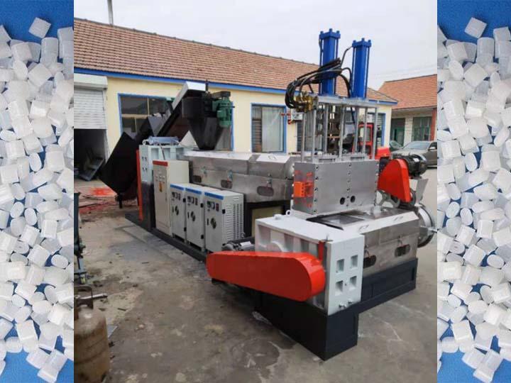 hydraulic plastic granulator
