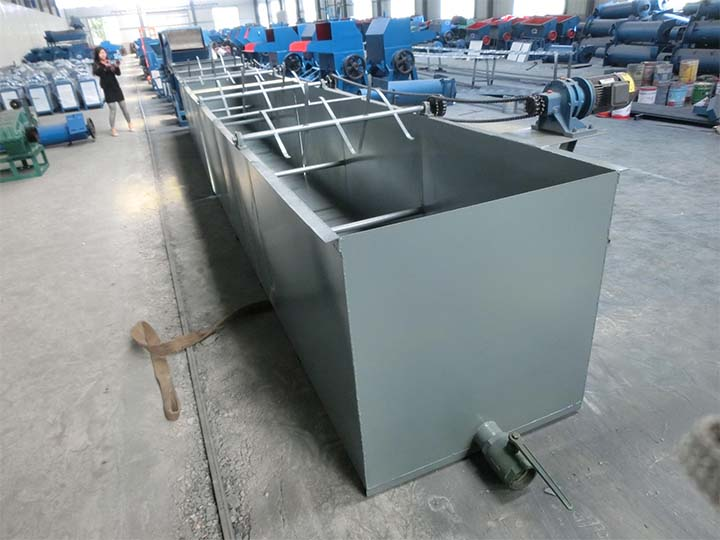 waste plastic washing-machine