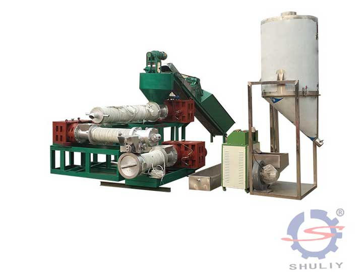 Plastic-bottle-recycling-machine- production line