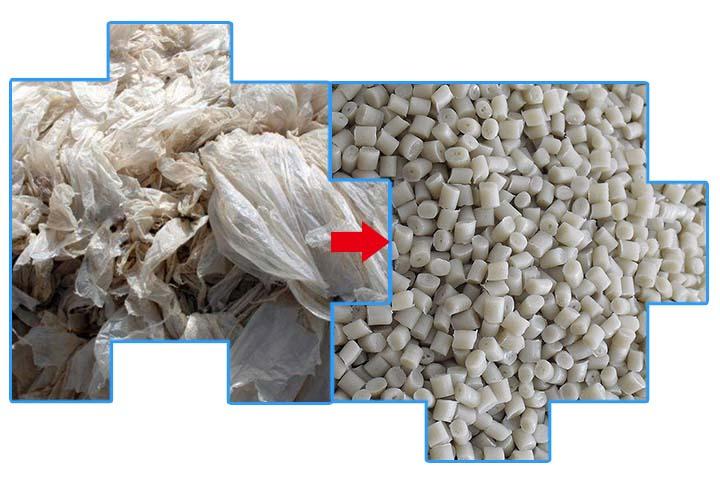 plastic film- plastic pellet