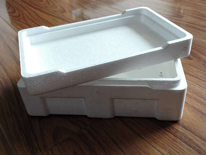 plastic foam made box