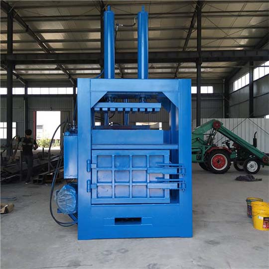 hydraulic baler machine for waste plastic