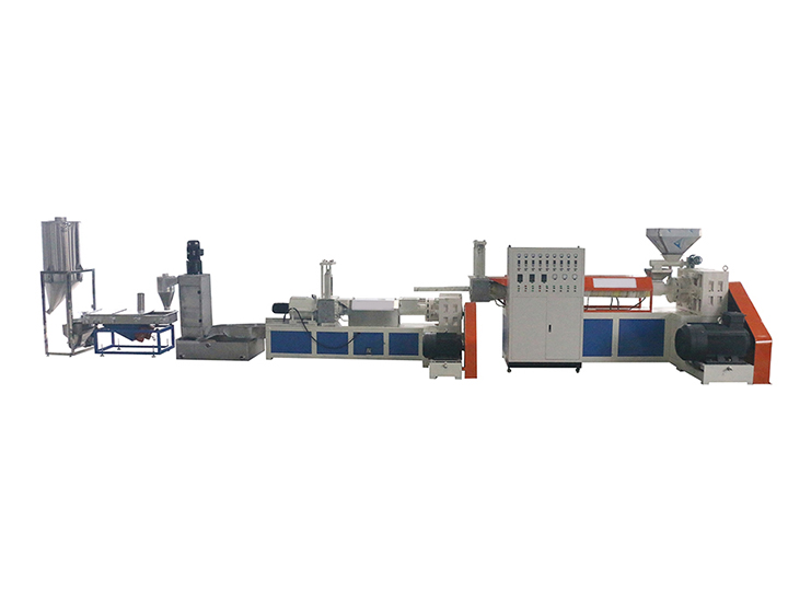 plastic granulator processing line