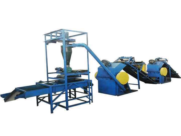 Granule making and screening unit