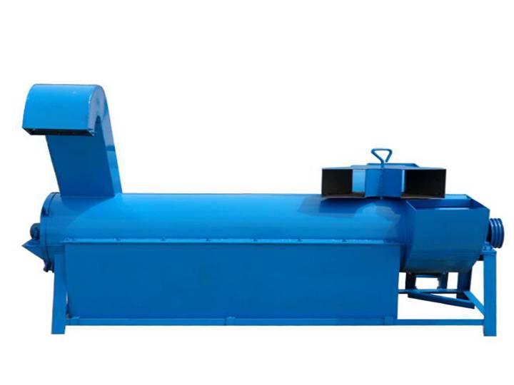 Horizontal dewatering machine
