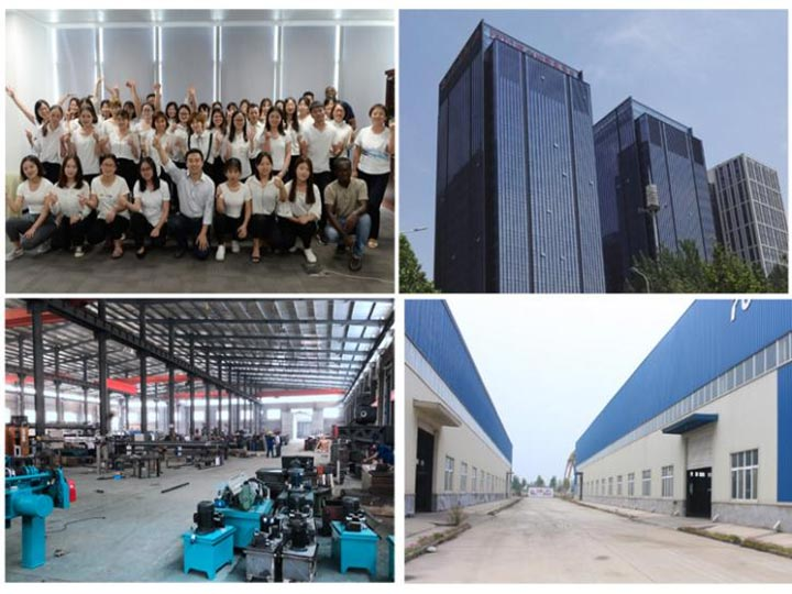our team and factory
