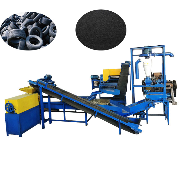 powder mill and screening unit