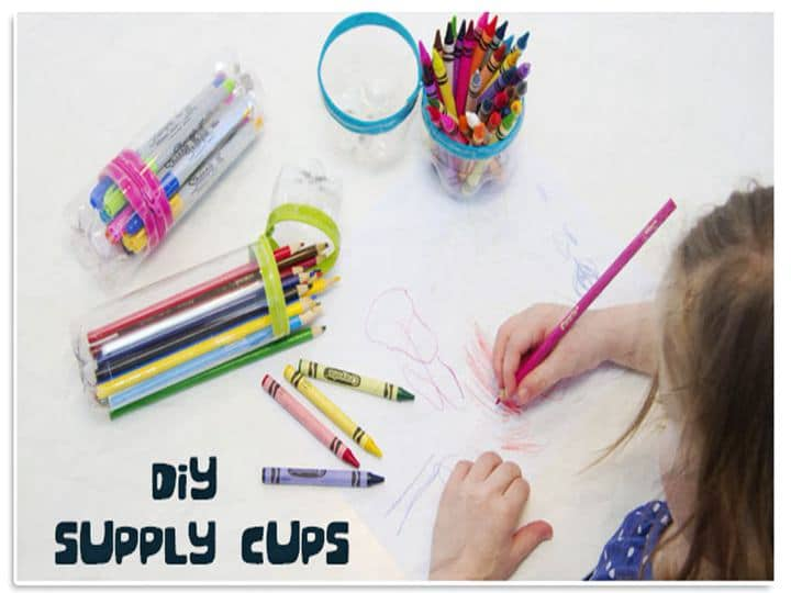 diy-plastic-bottle-supply-cups