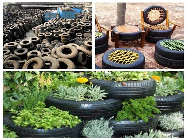 waste tires recycling