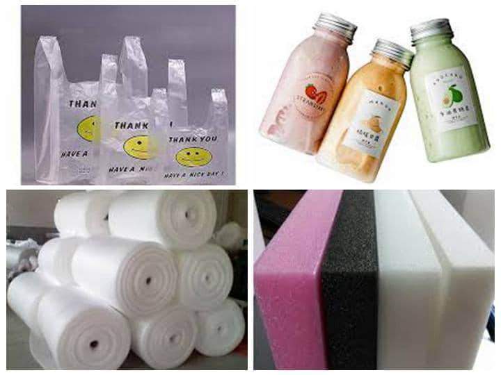 raw material of plastic recycling